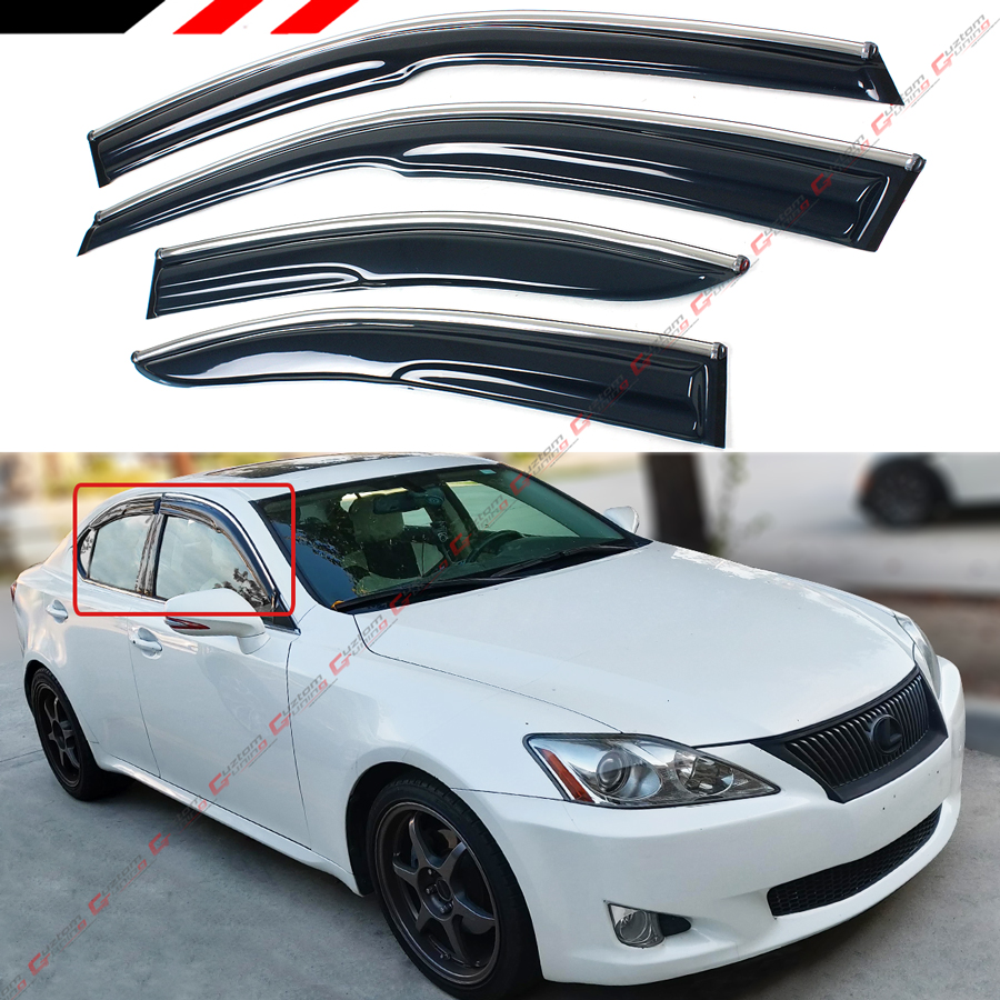 2009-2013 Lexus IS250 IS350 Convertible Wind Deflector