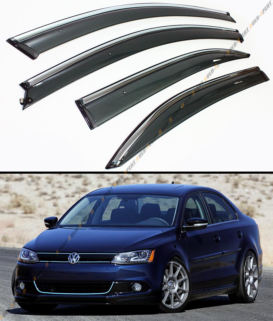 Volkswagen 2015 Jetta: 2011-2015 VW MK6 JETTA SEDAN SMOKE WINDOW VISOR DEFELCTOR