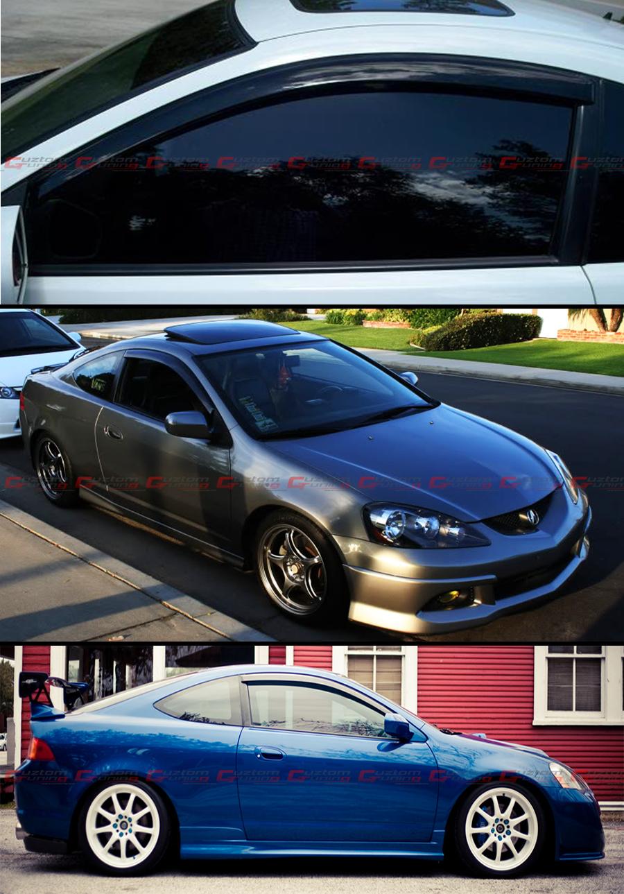 For 02 06 Acura Rsx Dc5 Type S Jdm Window Visors Vent