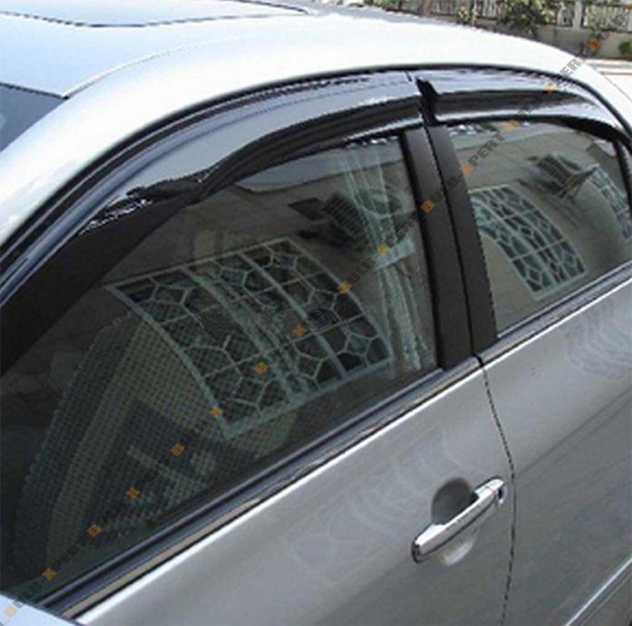 smoked window visor vent shade for 2012 2014 toyota camry le se ebay
