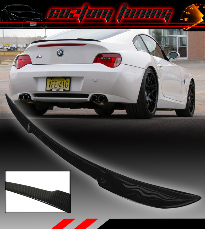 Bmw Z4 2003 For Sale: REAL CARBON FIBER TRUNK DUCK LID SPOILER WING FOR 2003