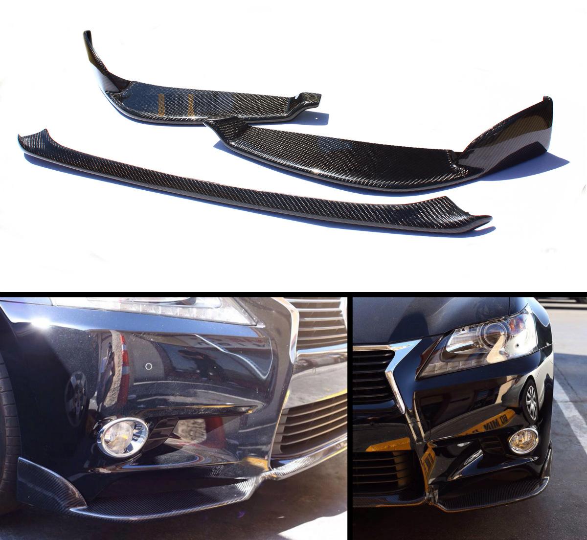 2013 2014 lexus gs350 carbon fiber front bumper lip 2. Black Bedroom Furniture Sets. Home Design Ideas