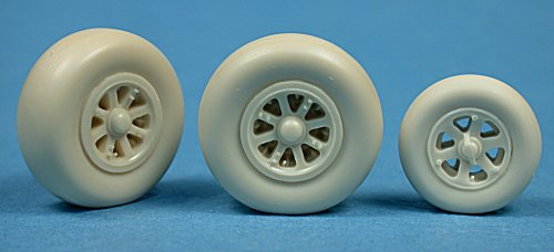 Ultracast ULT48217 P-38 Lightning Wheels  (Smooth