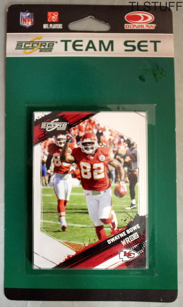Kansas City Chiefs Licensed 2009 Score Team Set NF