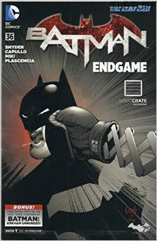 DC Comics Batman Endgame #36 Comic Snyder Capullo