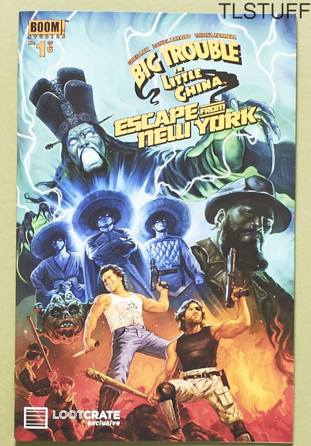 Big Trouble in Little China Escape From New York #