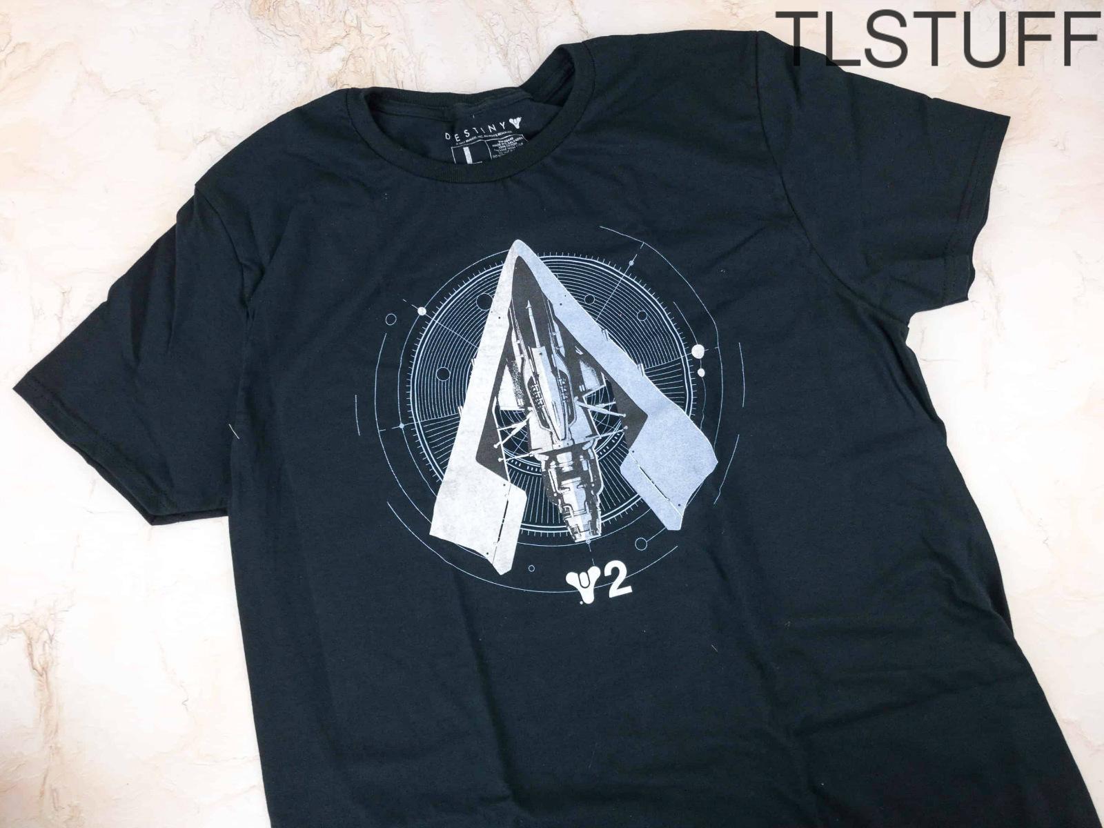 Loot Crate Destiny 2 T-Shirt December 2017 2XL XXL