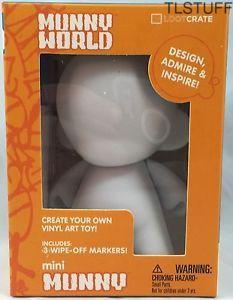 Kidrobot Munny World Mini Munny +3 Markers Feb 201