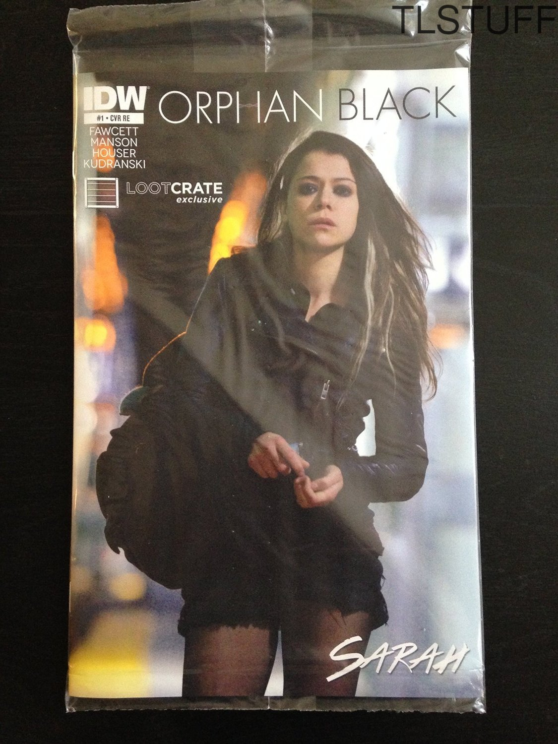 Orphan Black Comic #1 Exclusive Sarah Cover Loot C
