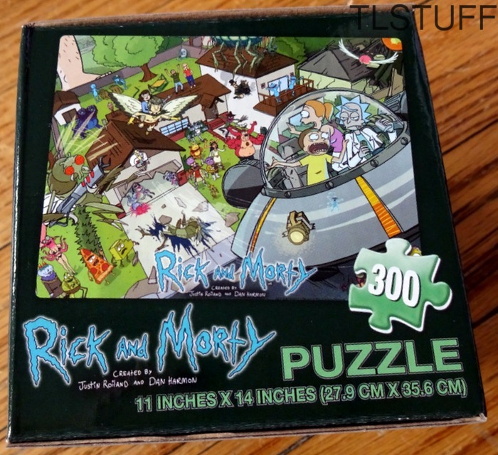 Cartoon Network Rick & Morty 300 pc Puzzle Exclusi