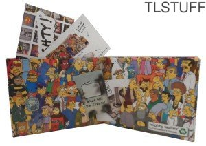 Dynomighty The Simpsons Cast Tyvek Mighty Wallet L