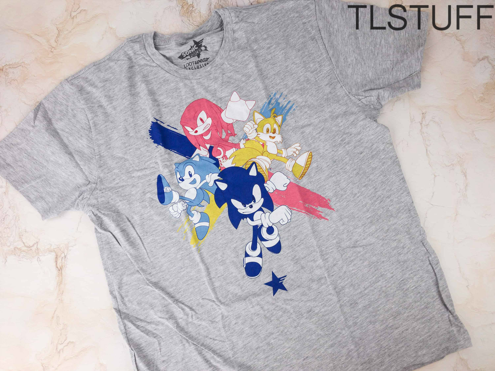 Sonic Forces Loot Crate T-Shirt Nov 2017 Exclusive