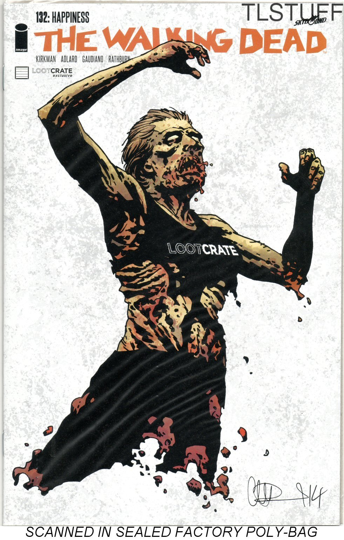 The Walking Dead #132 Lootcrate October 2014 Exclu