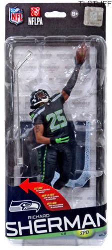 McFarlane Toys NFL Series 36 Richard Sherman Seatt