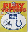 Indianapolis Colts Play Tattoos 3 pcs Temporary He