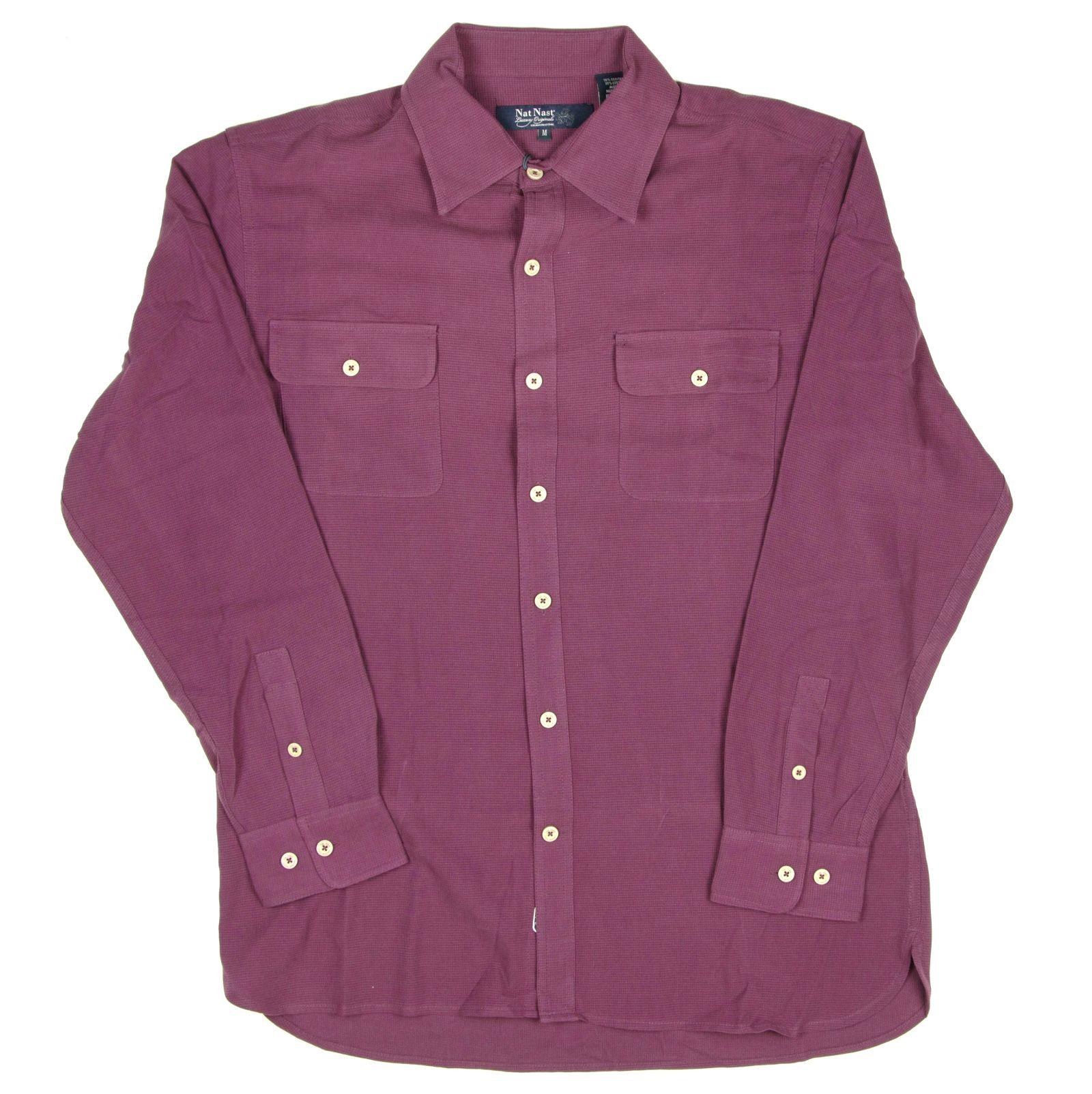 Nat nast mens long sleeve silk blend button down shirt for Men s batik bay silk blend button down shirt