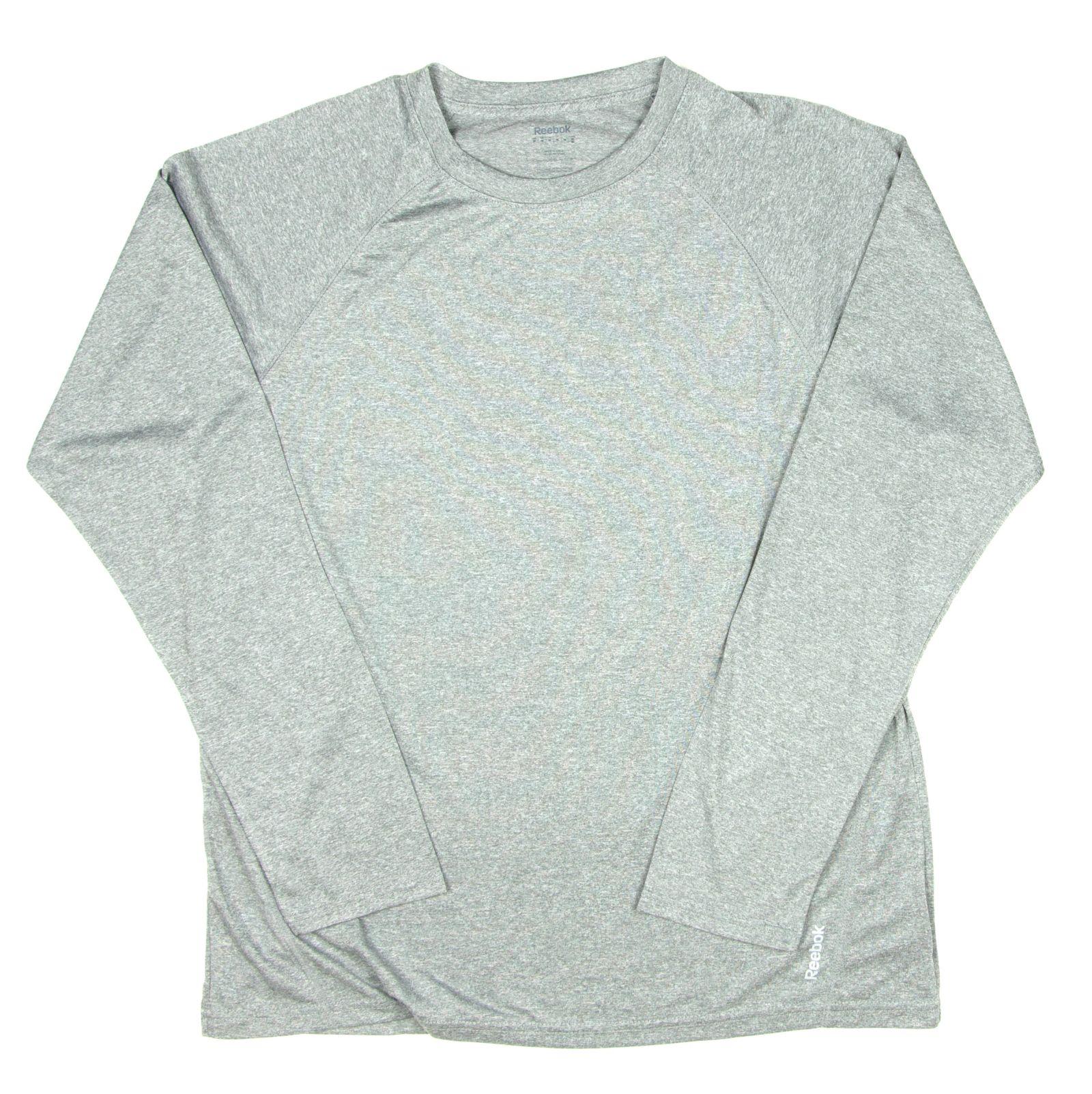 Reebok Mens Performance Long Sleeve Active Tee T Shirt X