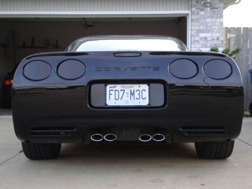 High Quality Corvette C5 97 04 Rear Blackout Kit   7 Piece Set Nice Design
