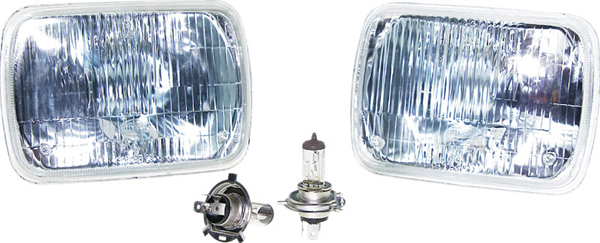 Details about Corvette C4 84-96 Headlamp Conversion Kit w/ Standard Halogen  Bulbs