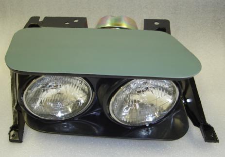 Details about C3 Corvette 1968-1982 Complete Headlight Assemblies