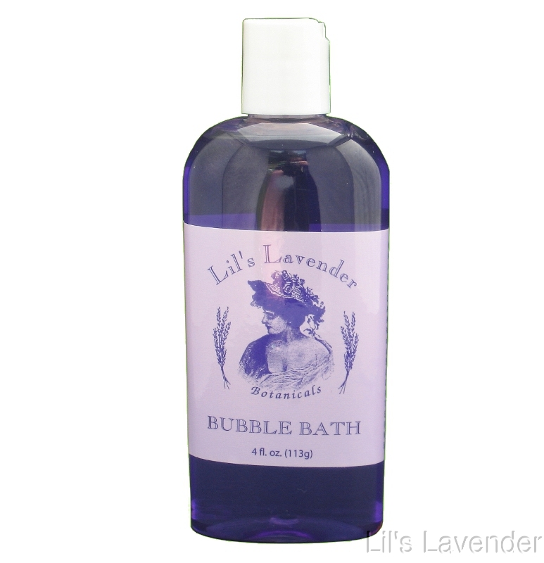 Lavender Bubble Bath - 4 oz. - 12@=Full Case