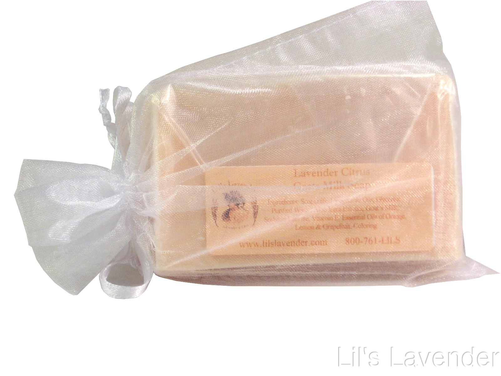 Lavender Citrus Goat's Milk Soap