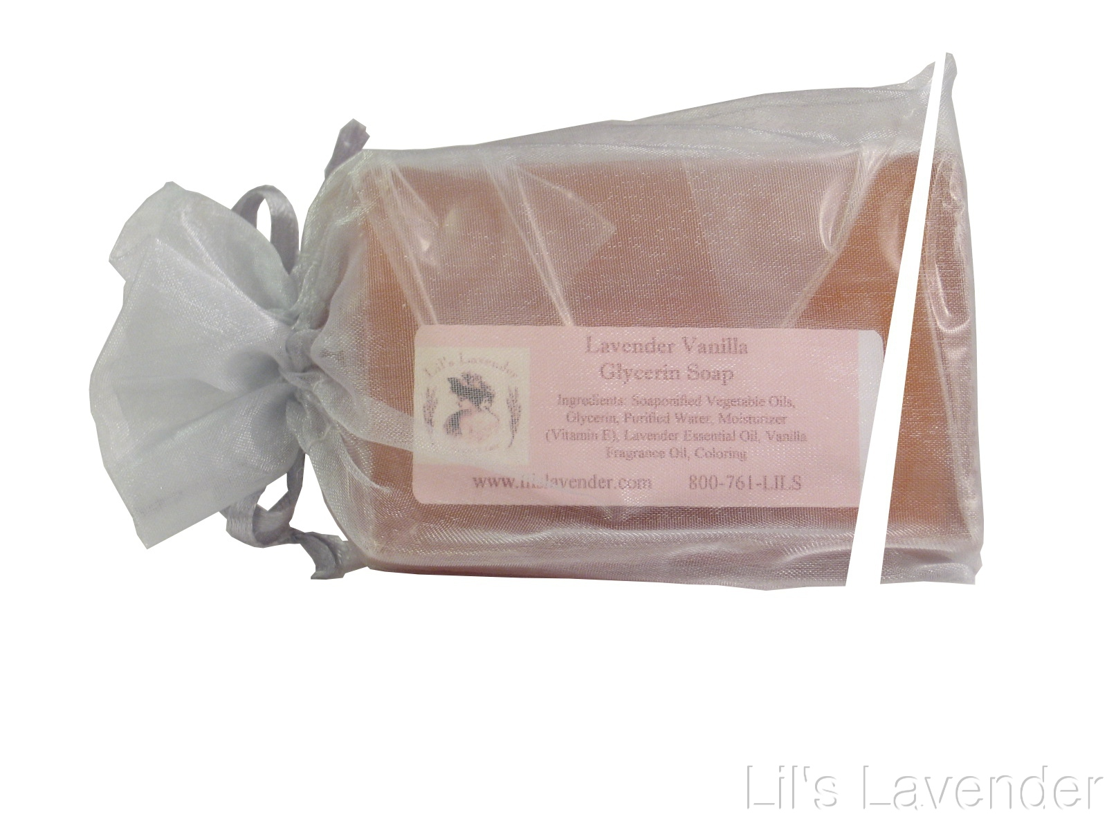 Lavender-Vanilla Glycerin Hand & Body Soap