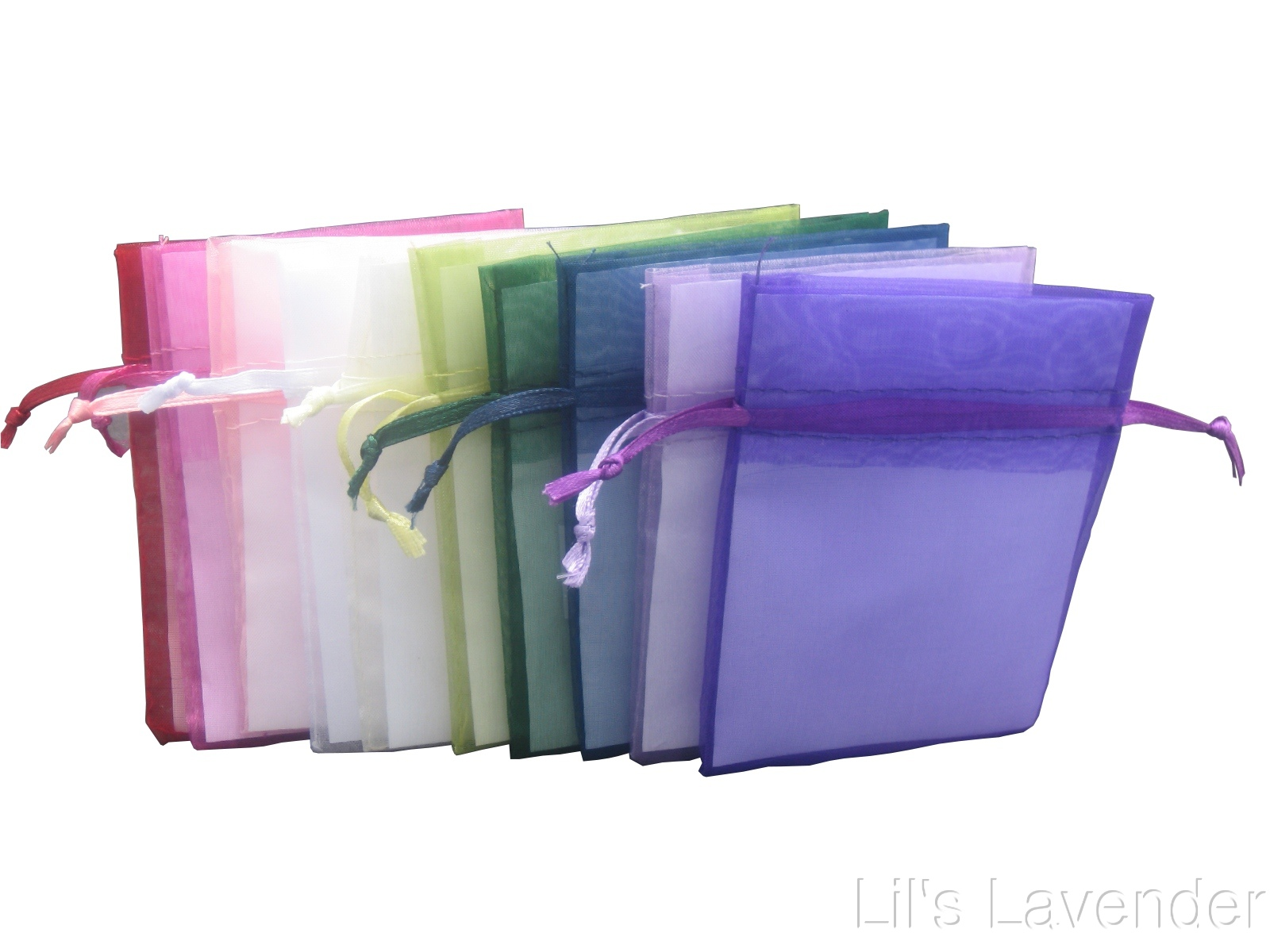 "4"" x 6"" Organza Bags"
