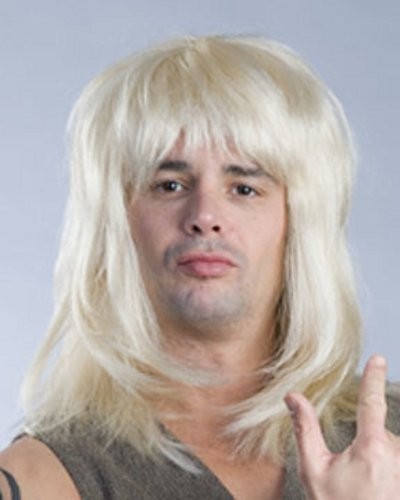 Blonde Mullet Wig Garth 89