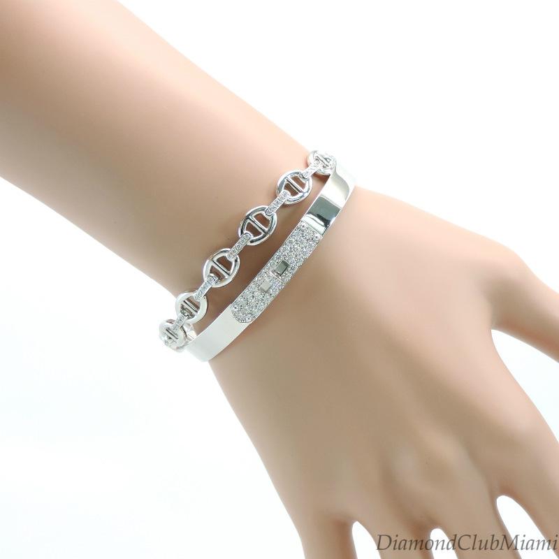 Hermes Kelly Double Tour Bracelet Size