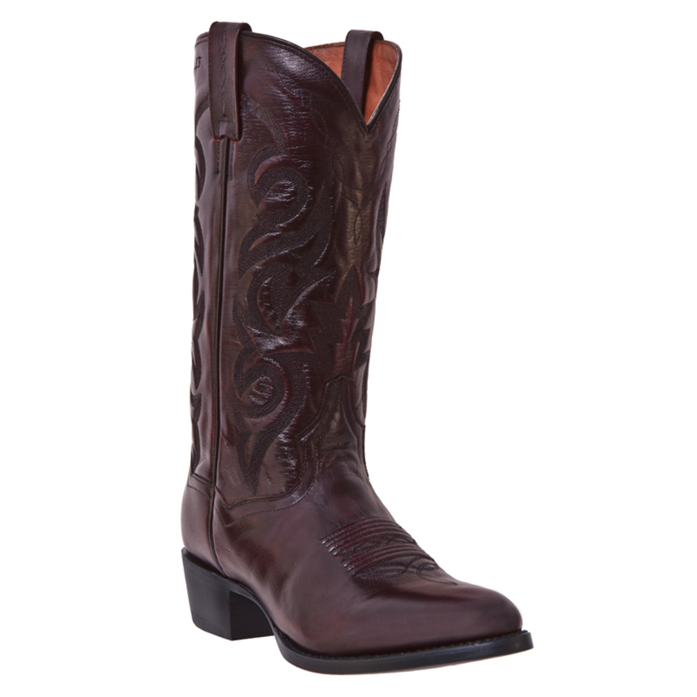 dan post mens western boots milwaukee cowboy black cherry