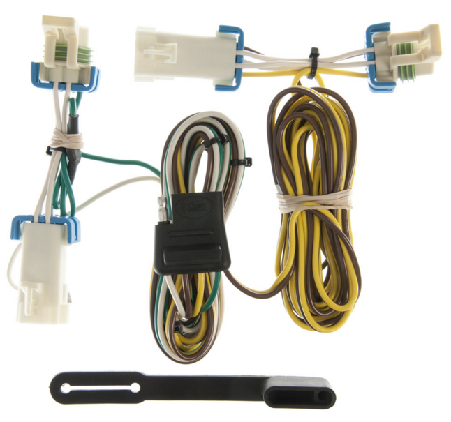 details about class 3 trailer hitch w wiring fits rendezvous, aztek curt 13469 55383 2001 aztek fuse box wiring diagrams