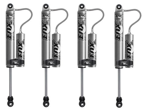 fox shox front  rear 2 0 performance series reservoir shock kit fit ram 2500  3500
