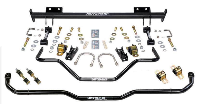 hotchkis 2207c performance sport sway bar set fits 67 firebird f