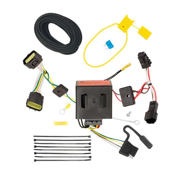 tow ready 118526 t one t connector hitch wiring fits kia sportage ebay rh ebay com tow ready 7 way wiring diagram tow ready wiring diagram