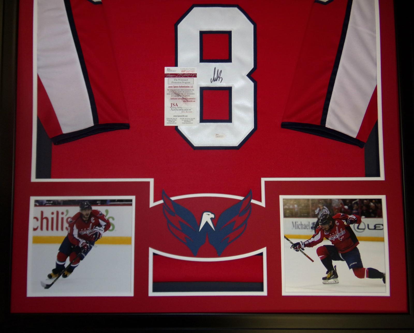 Alexander Ovechkin Framed Jersey Signed JSA Autographed Washington Capitals 634243476