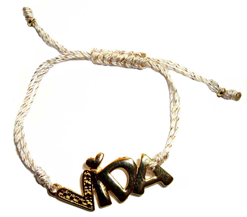 18k Goldfilled Vida String Bracelet
