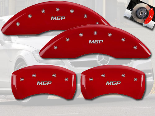 2010 2014 Mercedes Benz E350 Front Rear Red Mgp Brake Disc
