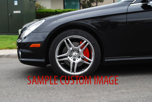 2003 2006 Mercedes Benz Sl500 Front Rear Red Mgp Brake