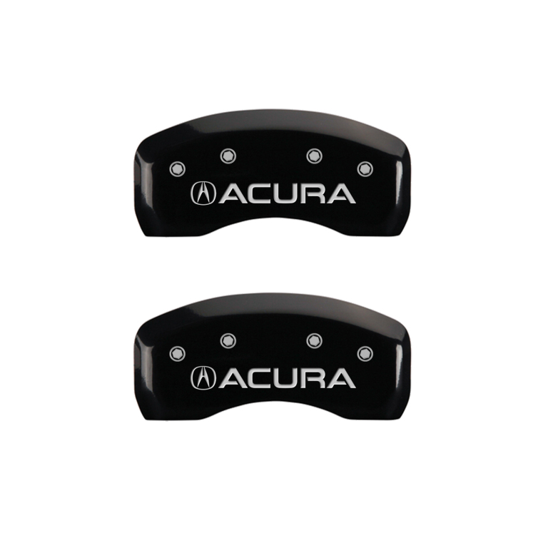 "2015-2020 ""Acura"" TLX Front + Rear Black Engraved MGP"