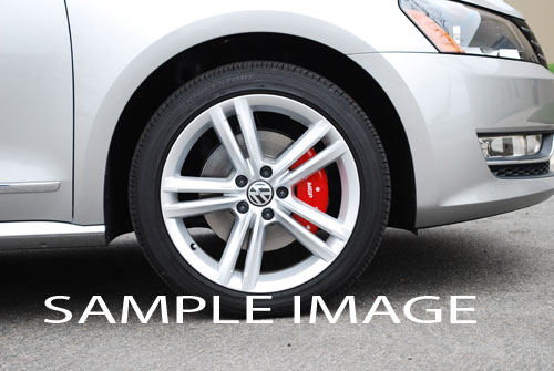 2004 Volkswagen Golf R32 3 2l Front Rear Red Mgp Brake