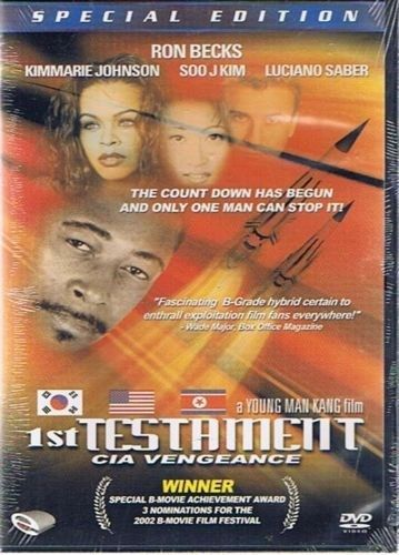 1st Testament: CIA Vengeance (DVD, 2004)