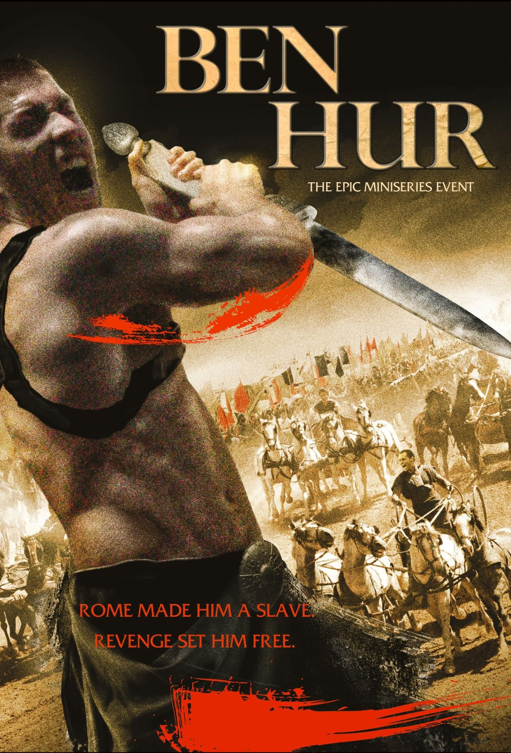 Ben Hur (DVD, 2013) The Epic Miniseries Event