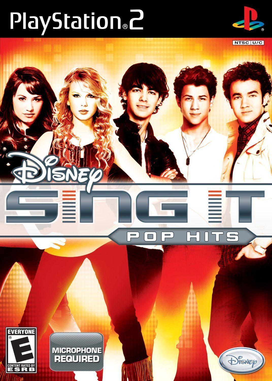 Disney Sing It: Pop Hits (PS2 Game)