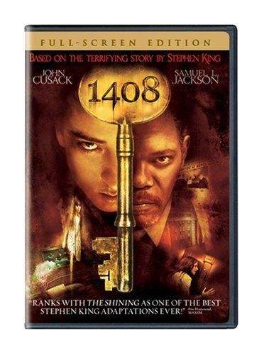 1408 (DVD, 2007, Full Frame) Includes 1408 T-Shirt
