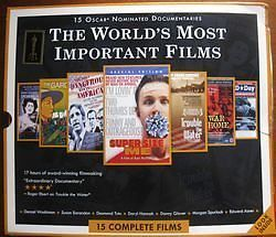 15 Oscar Nominated Documentaries (DVD 15 Complete