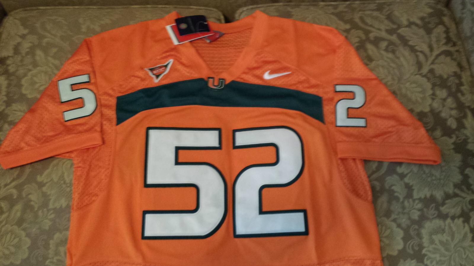 Ray Lewis Jersey Orange