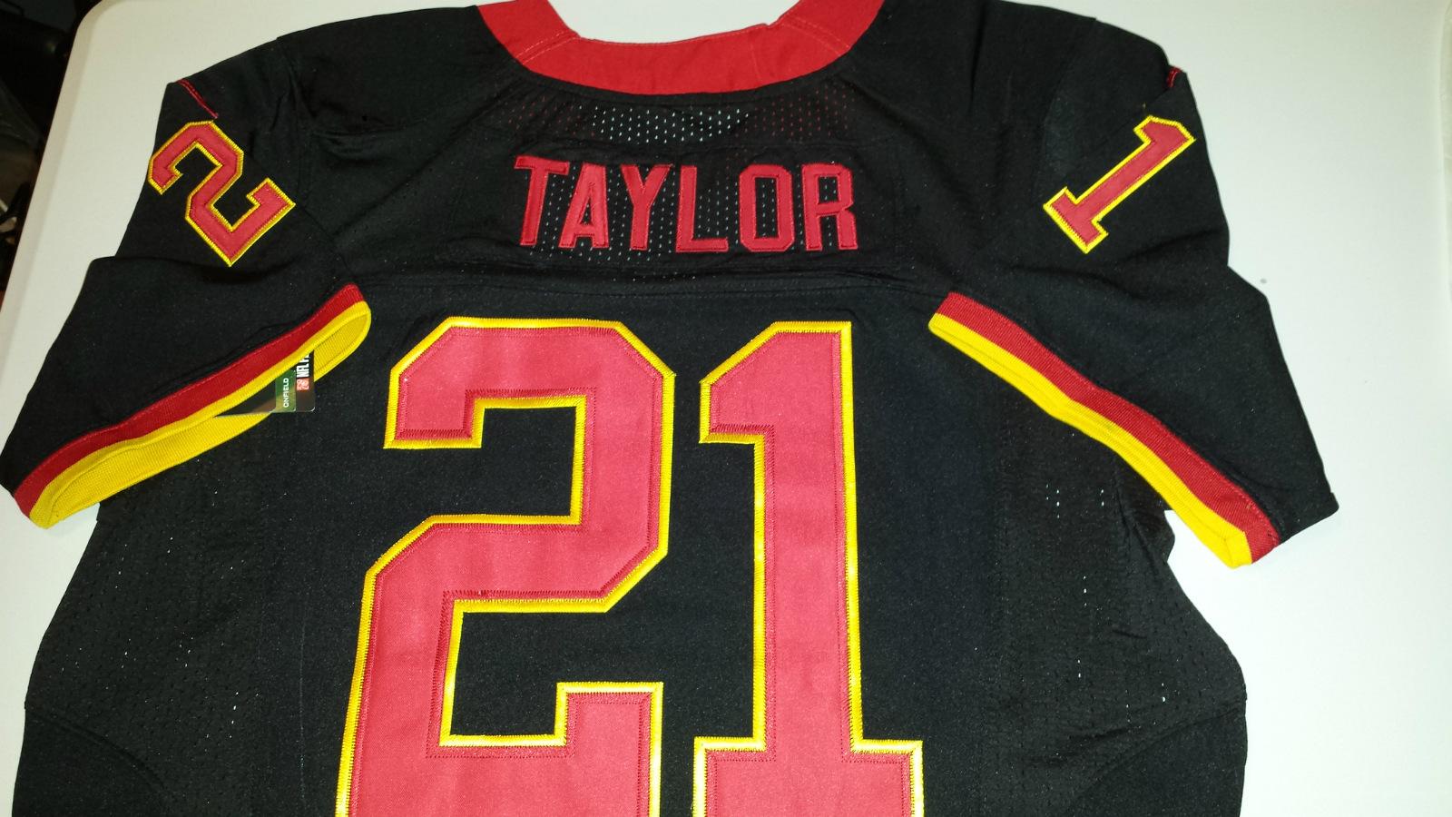 Sean Taylor Jersey Black
