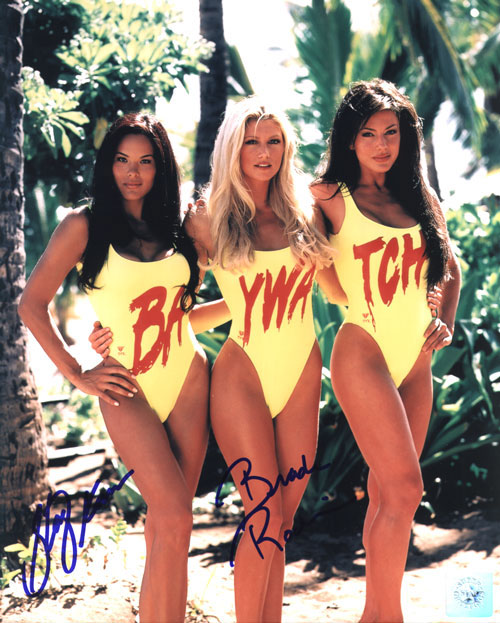 Stacy Kamano & Brande Roderick Dual Signed 8X10 Ph