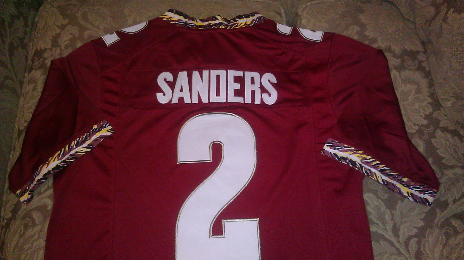 New Deion Sanders Florida State Jersey